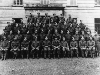 Photograph believed to be the band of 297 Coy Royal Engineers, location unknown.