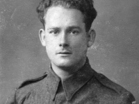 A young Freddie French (originally from Gravesend, Kent) soon after joining the Royal Engineers. (1942)