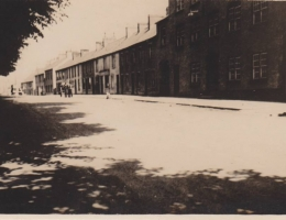 "Tandragee, N.I."" Inscribed on back: ""Another view of Main Street."
