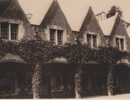 Courtyard, Duke of Manchester Castle, Tandragee, N.I.