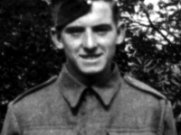 English soldier Stanley Jeynes who was billetted from time to time in Gilford Co Down, during WWII, especially in 1944, with the Royal Artillery. Stan initially served with the King\'s Own Royal Regiment until 1941, and survived the Dunkirk evacuation. He also served with the Lancashire Fusiliers and Lancashire Regiment.