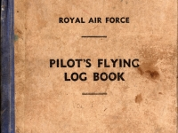 Harry Watson cover of flying log book