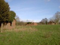 Alternative view of the remaining buildings at Kernan Lough which had been occupied by the Searchlight Brigade during WW2