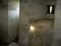 Another internal view of the WWII pill box which stands in Greer\'s field at the Madden, near Gilford.