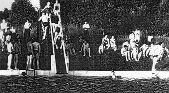 Gilford Swimming Pool in the 1950's